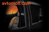 Автомобильные шторки PREMIUM  (100% затемнение)