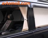 Плиссированные автомобильные шторки FRENZO |  VIP  (100% затемнение)