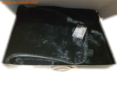 Накидка меховая на автомобильное сиденье из облагороженного мутона (фото, вид 2)