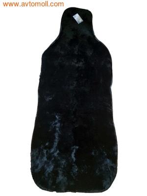 Накидка меховая на автомобильное сиденье из облагороженного мутона (фото, вид 3)