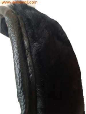 Накидка меховая на автомобильное сиденье из облагороженного мутона (фото, вид 6)