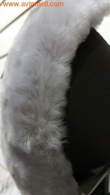 Накидка меховая на автомобильное сиденье (фото, вид 1)
