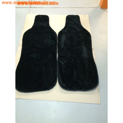 Комплект накидок из меха Черного цвета (2 шт) (фото, вид 2)