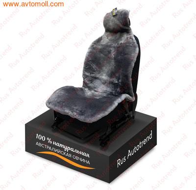 Накидка меховая на автомобильное сиденье (фото)