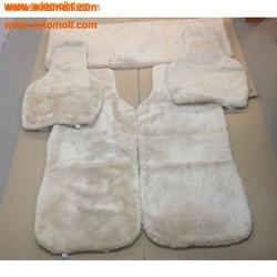 Комплект накидок из натуральной овчины на автомобильные сиденья