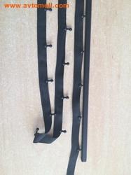 Крючки для автомобильных шторок (черный цвет)