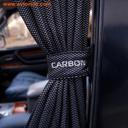 Автомобильные шторки Carbon (сетчатые)