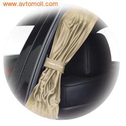 """Автомобильные шторки. Комплект штор """"VESTITO"""" - M (высота 35-44 см), длина штор 60 см."""