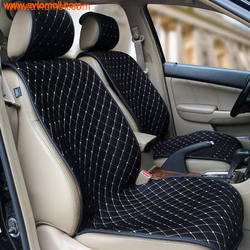 Накидка на сиденье автомобиля из твида (холодный шелк)