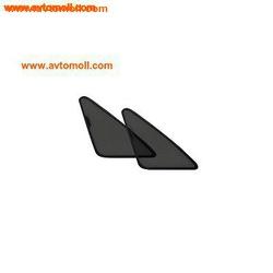 LAITOVO комплект на задние форточки для Kia Soul 2G Компактвэн 5D (2016 - н.в.) Рестайлинг